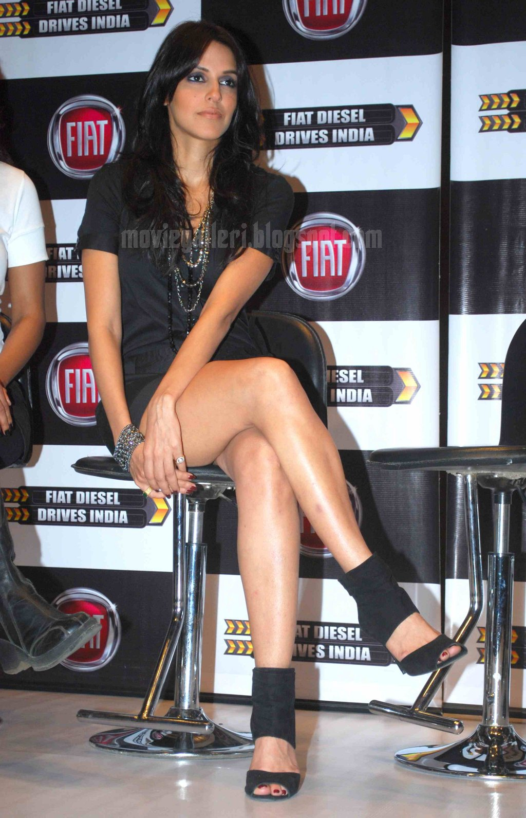 Neha Dhupia Launches Fiat Diesel Drives India Wallpapers -9534